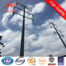 Galvanization Electric Power Steel Pole