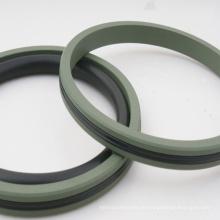 Hydraulische Kolbendichtungen PU / PTFE-Dichtungen für Pressen / Zylinder