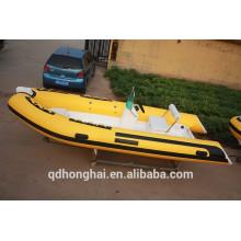 Bateau de RIB470 avec le bateau gonflable ce avec plancher rigide bateau de Chine RIB470