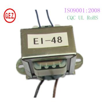 Transformator 10w Ei48 mit CQC CE UL-Zertifikat reines Kupfer
