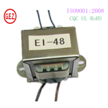 transformateur 10w ei48 avec CQC CE UL certificat cuivre pur