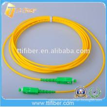 9/125 Singlemode Simplex SC/APC Fiber Optic Patch Cord