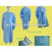 Tissu non-tissé SMS 3 couches pour tissu chirurgical Tissu chirurgical SMS