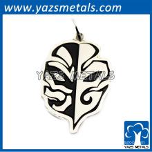 2014 fashionable zinc alloy pendant with enamel black color finished