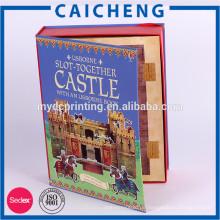 CMYK bedrucktes Kunstdruckpapier mit Pappkarton für Spielzeugpuzzles