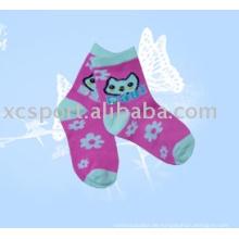 Glückliche Kinder Socken