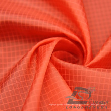 Wasser & Wind-resistent Outdoor Sportswear Daunenjacke gewebt Double-Striped Plaid Jacquard 100% Polyester Filament Stoff (L011)