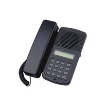 Telefone voip de escritório com casaco abs preto