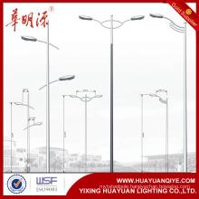 single arm and dual am street steel galvanized lighting poles                                                                         Quality Choice