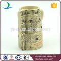 YScc0032-1 Weihnachtsgeschenk-Keramik-Schloss prägeartiger Schale