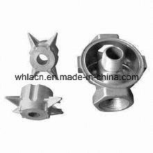 Válvula neumática CNC de fundición de precisión de acero inoxidable