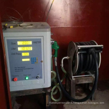 fuel dispenser machine with electric piston 220v used for mobile refilling station
