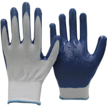 NMSAFETY High Performance 13 Gauge polyester Nitrile Glove