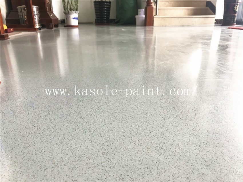 Epoxy Color Sand Self Leveling Floor