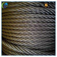 Cuerda de alambre no galvanizado de acero de alto carbono