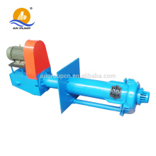 Centrifugal vertical submerged sump pump for dredging
