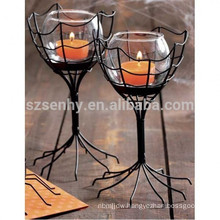 Metal Special Design Halloween Candlestick Holders