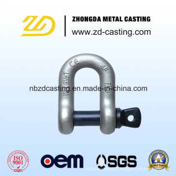 China OEM liga de aço Forging Shackle para a ferrovia