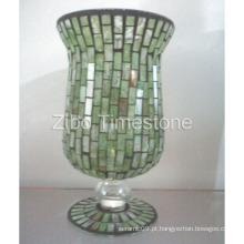Vaso de vidro de mosaico (TS015-03)