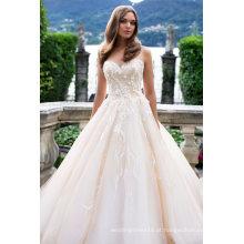 Querida Lace Champagne Ball Vestido De Noiva Vestidos De Noiva