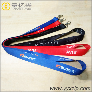 Werbe-Logo Sublimated Printed Exhibition Lanyard