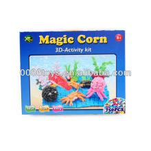 Intelligent Toy Brick 750PCS magic corn block