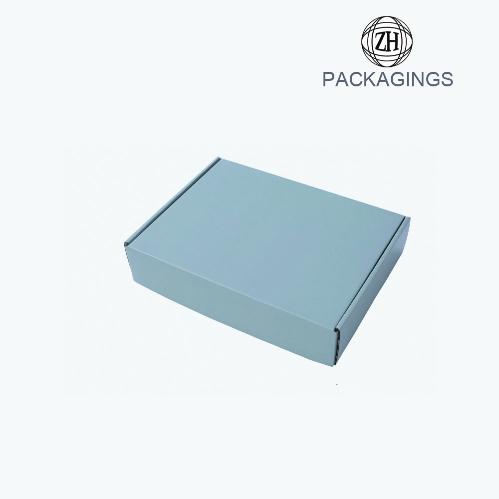 Custom made corrugated paper shipping box