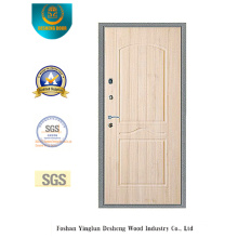 Porta de aço de segurança lisa com bolso de porta de aço (Q-1011)