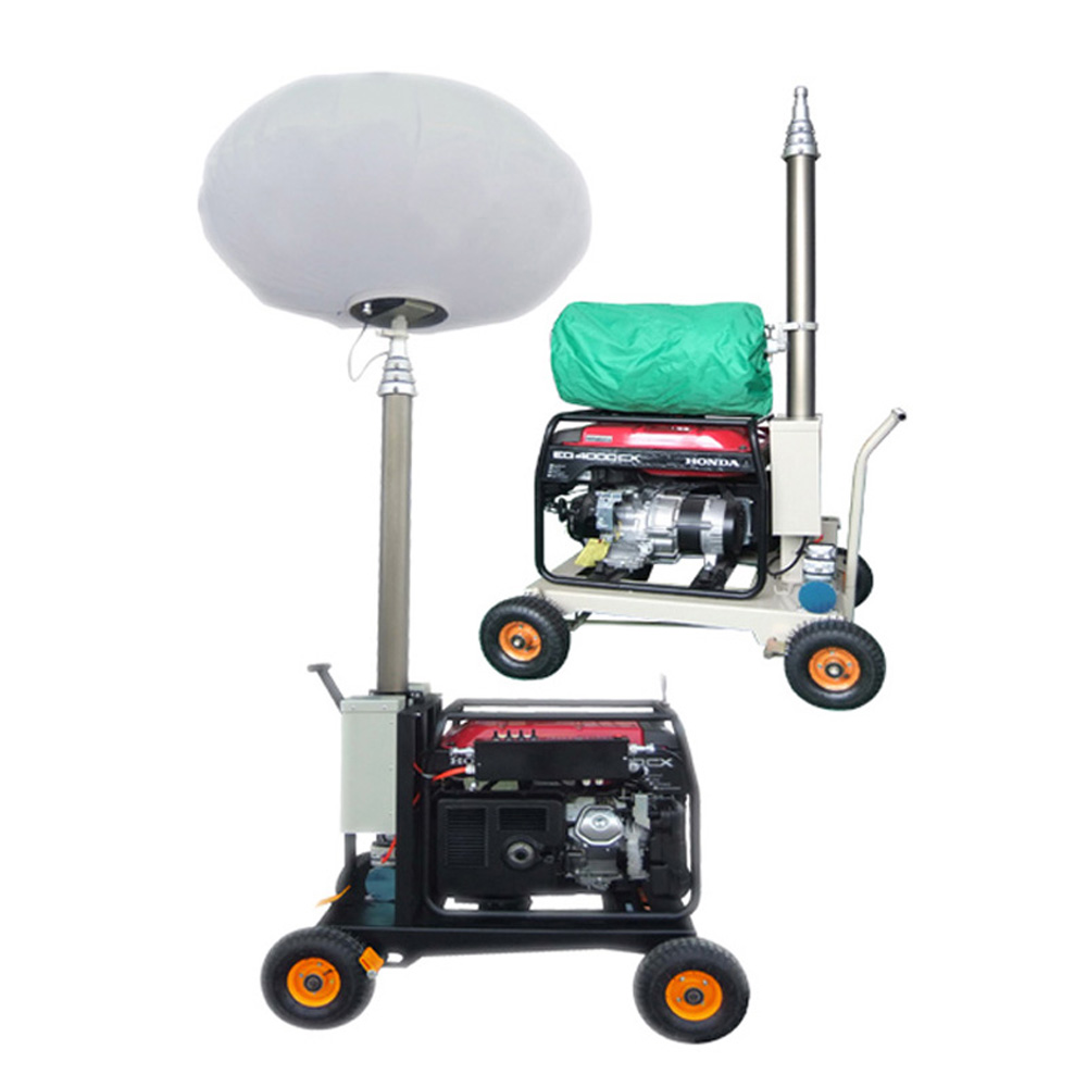 Portable Light Tower Price: Construction Equipment Portable LED Balloon Light Towers