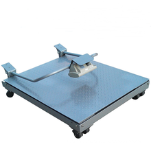 Foldable Electronic Floor Scale With Wheels