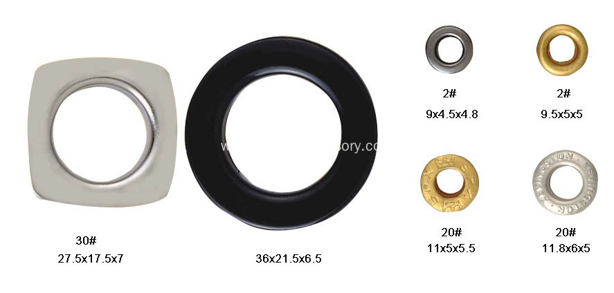 Metal Eyelet, Metal Grommets for Shoes&Clothes