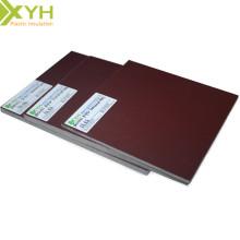 Feuille stratifiée de papier phénolique de Brown 3021B