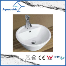 Ceramic Cabinet Art Basin and Vanity Top Hand Washing Sink (ACB8244)