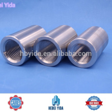 Manga de rosca recta de 16-40 mm que molesta el acoplador de barras de refuerzo