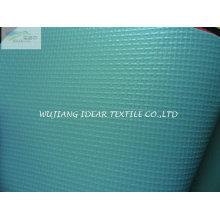 Tecido de malha de PVC para toldo / dossel