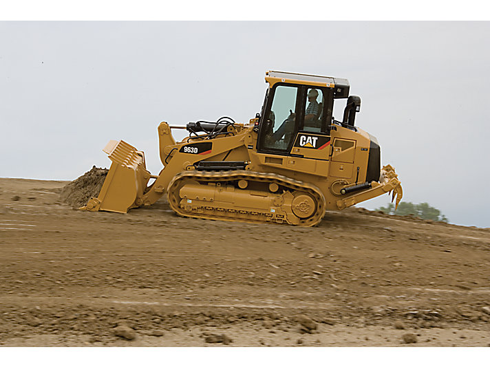 cat 963D WH crawler loader