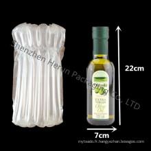Livraison gratuite 750ml bouteille de vin avec le sac de la colonne de verre