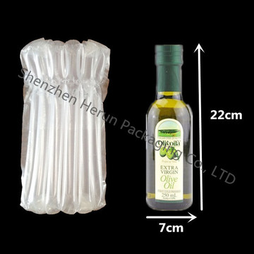 Free Shipping 750ml Glass Wine Bottle with Column Bag