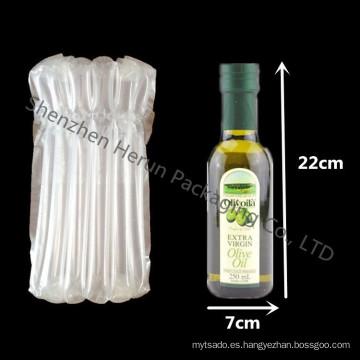 Bolsa de columna de aire para embalaje de botella de vidrio