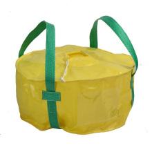 Grande, saco, laço, volta, pacote, ferro, óxido