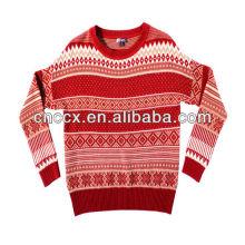 13STC5194 pullover damen jacquarded pullover