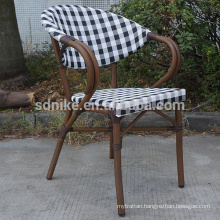 TC-(1) Modern teslin fabric chair/ teslin restaurant chair