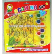 Ловец солнца краска комплект -8 цветов радуги витраж