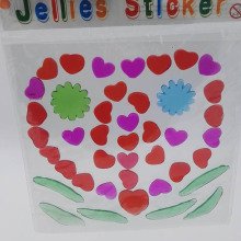 Jelly Windows Stickers Gel Clings Sticker Manufacturer