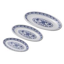 Vaisselle de mélamine de 100% / plat de mélamine / plat de dîner (CW13932-12)