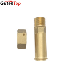 LB Guten top Brass Water Meter Connector/brass fittings/brass coupling, WATER METER CONNECTOR FOR CONNECTING PEX-AL-PEX PIPE