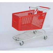 Plastic Shopping Trolley 180L