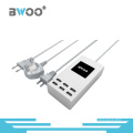 6 USB Ports Multi-Function Charger with EU/Us/UK Plugs