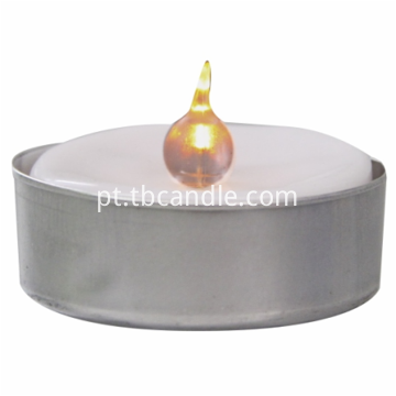 Fire protection LED tealight candle with holder