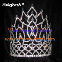 Wholesaler Shinny Crystal Queen Pageant Crowns